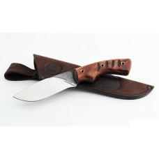 Нож Беркут (95х18, цельнометаллический, махагон)
