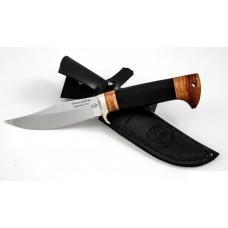 Нож Бекас: сталь D2; рукоять черный граб