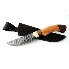 Нож Енот малый: сталь алмазка, камень; рукоять сапеле-венге