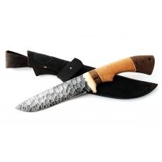 Нож Волк: сталь алмазка, камень; рукоять сапеле-венге