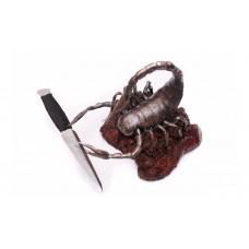 """Кованая подставка """"Скорпион"""""""