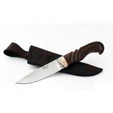 Нож Большой коготь: сталь х12мф; рукоять резная, венге